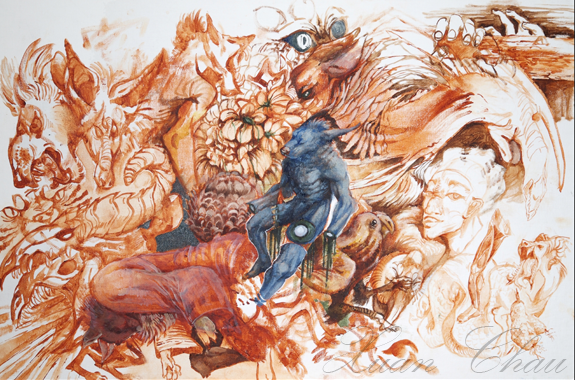 Xuan Chau's college portfolio