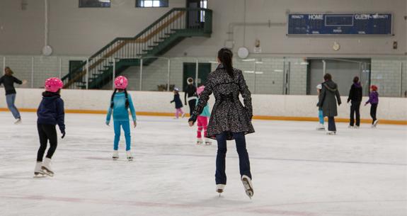陈玉泉 Sabrina Yuquan Chen Ice Skating
