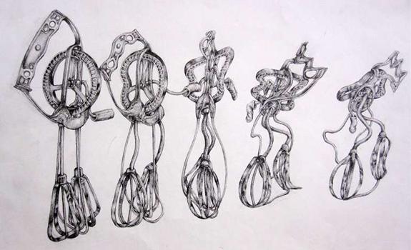 Xuan Chau Award Winning Drawing Tip Toe