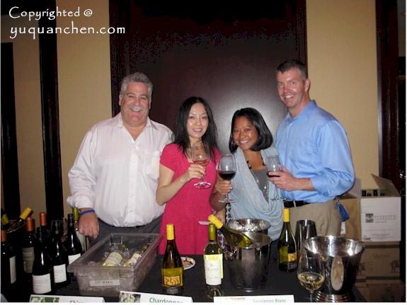 Sabrina Yuquan Chen 陈玉泉 Jimmy Fund Wine Tasting